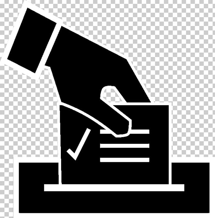 Us presidential election ballot. Voting clipart hand