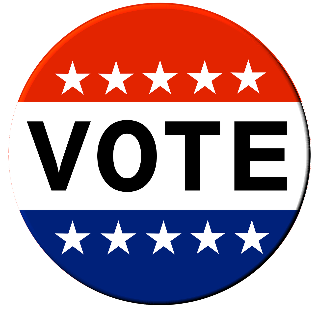 Your vote counts st. Voting clipart individual right