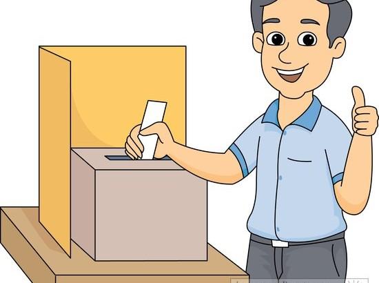 Voting clipart referendum. In box panda free