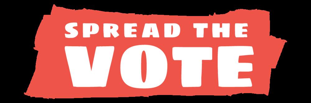 Spread the vote . Voting clipart right citizen