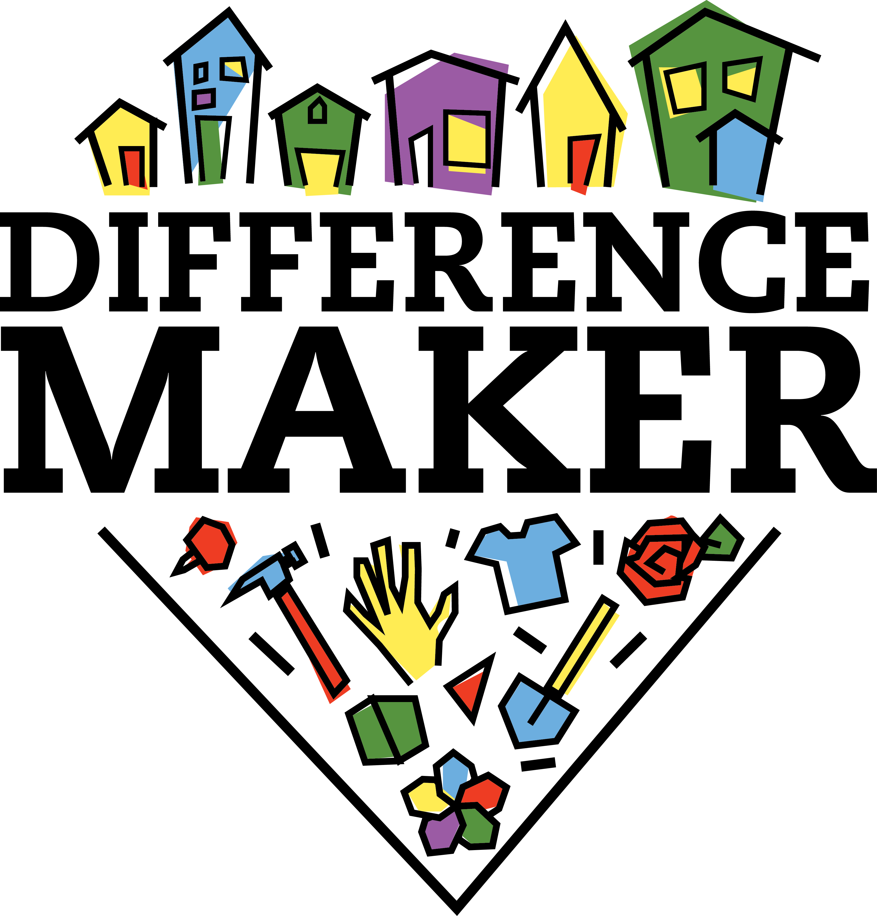 Difference maker fund project. Voting clipart survey