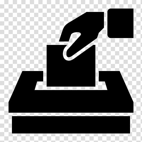 Ballot box early election. Voting clipart transparent background
