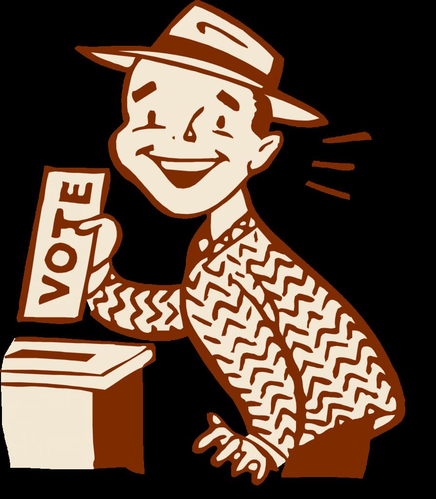 Voting clipart vote button. It s time go