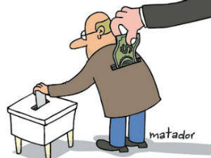 Voting clipart vote buying.  ways to rig
