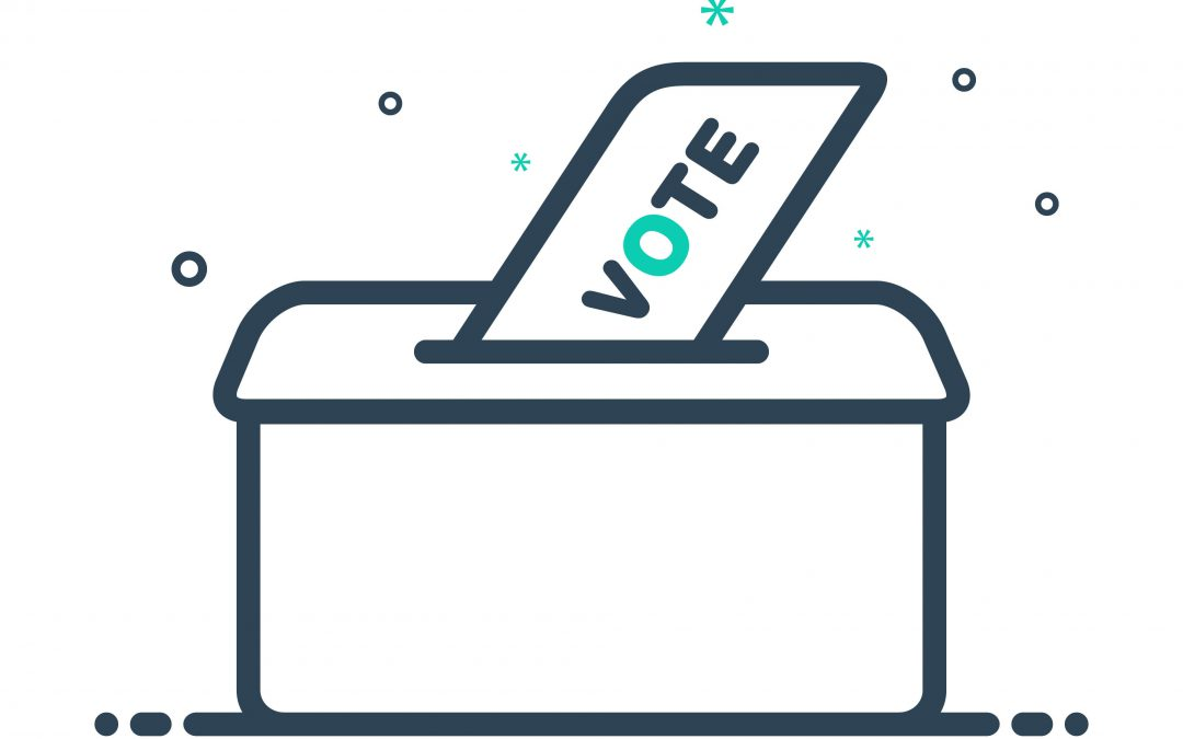 Why use a ballot. Voting clipart vote sign