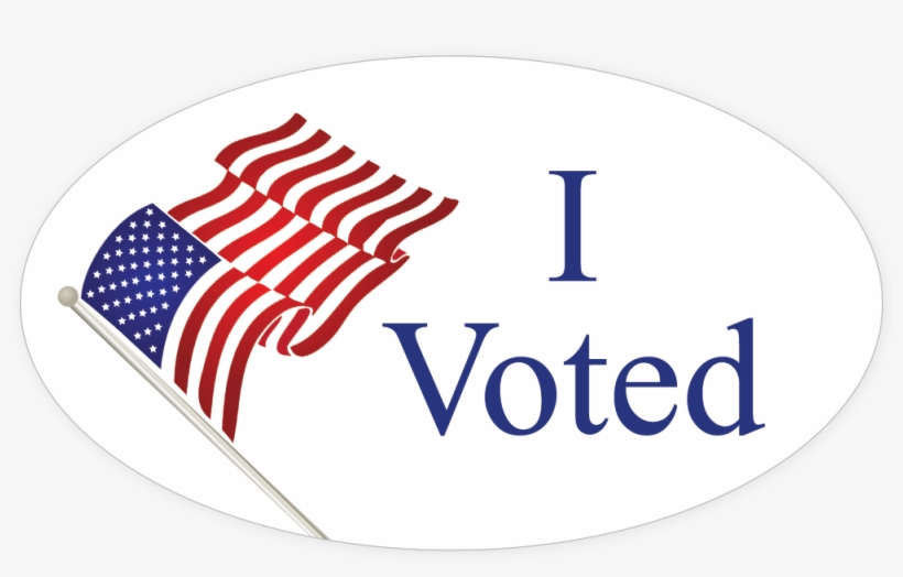 Voting clipart voted sticker. I png clip art