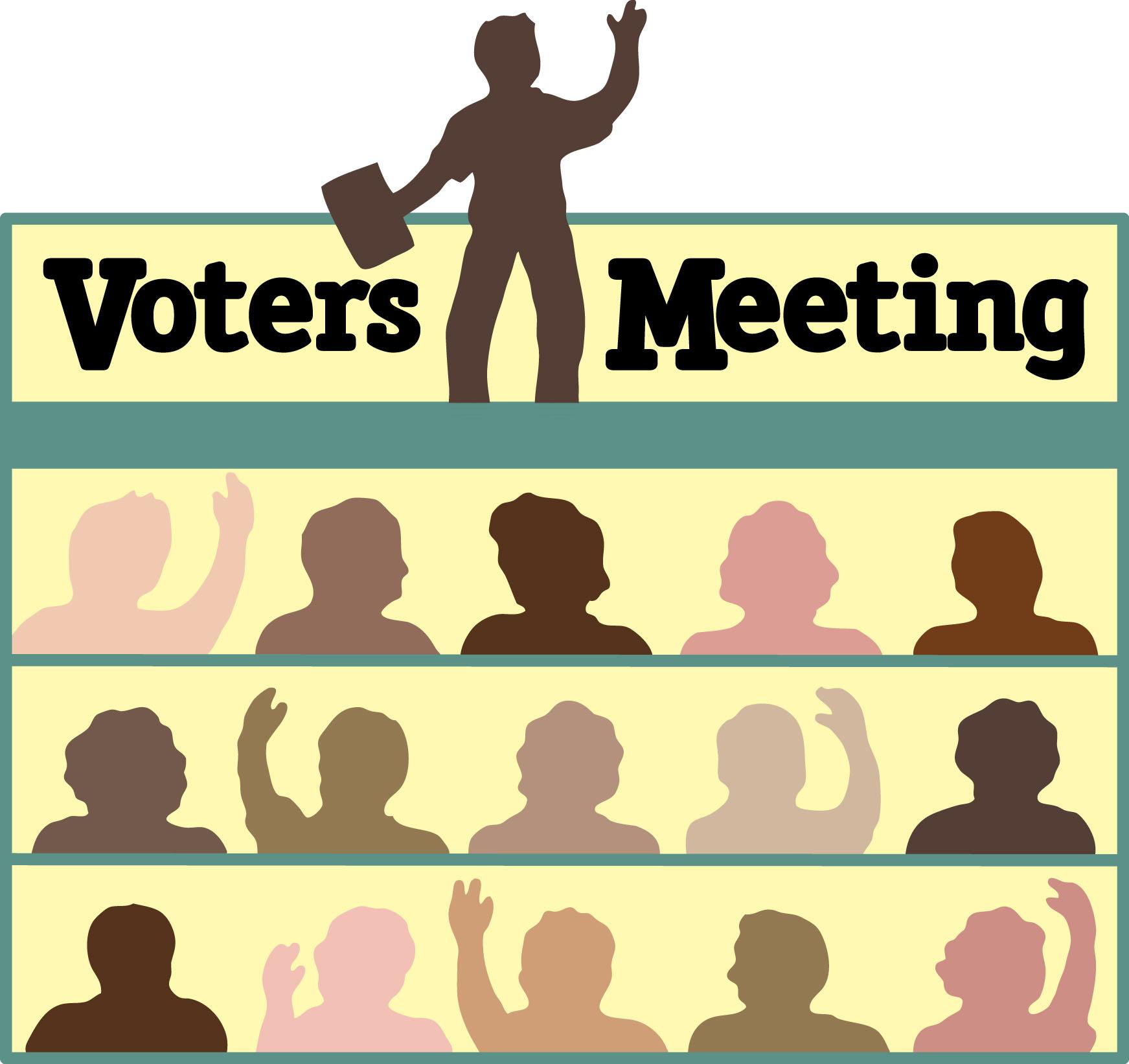 S june st john. Voting clipart voter meeting