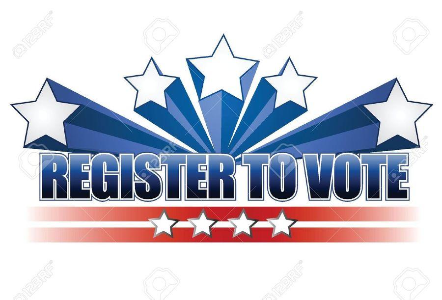 Voting clipart voter registration. Download clip art