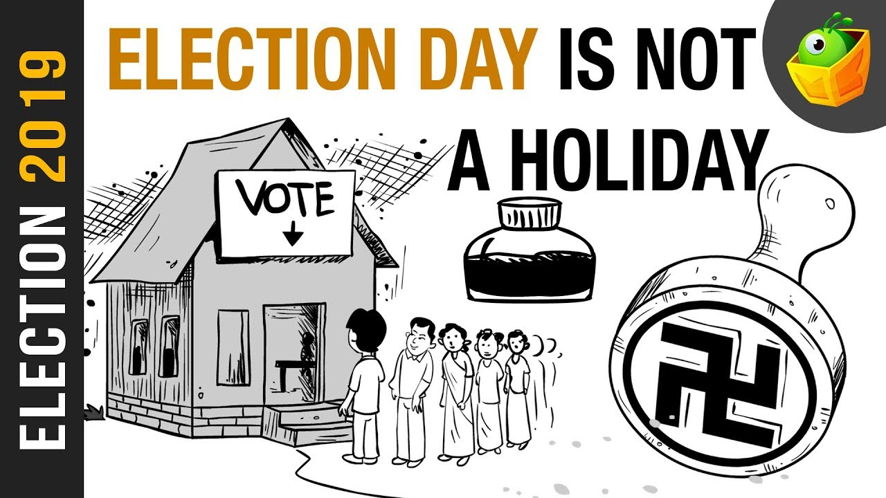 Voting clipart voting indian. Election day not a