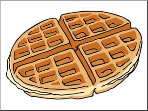 Clip art color i. Waffle clipart