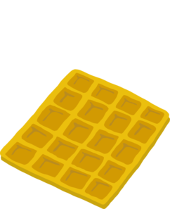 Clip art at clker. Waffle clipart