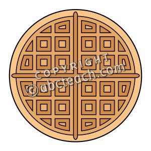 Waffle clipart. Clip art panda free