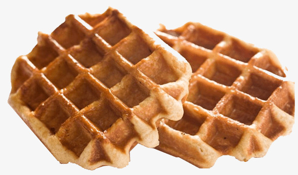 Waffle clipart. Two pieces of biscuits