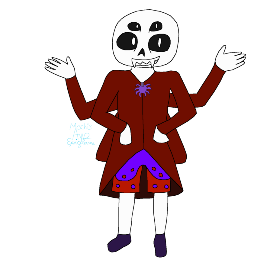 Waffle clipart angry. Spidertale sans by americawithwaffles