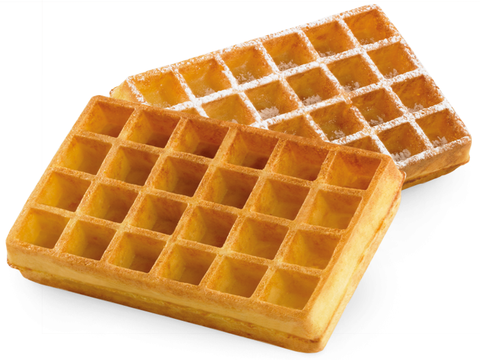 Waffle clipart belgian waffle. Ecofrost frozen waffles from