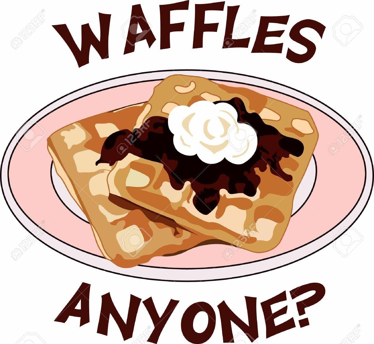 Waffle clipart border. Breakfast portal