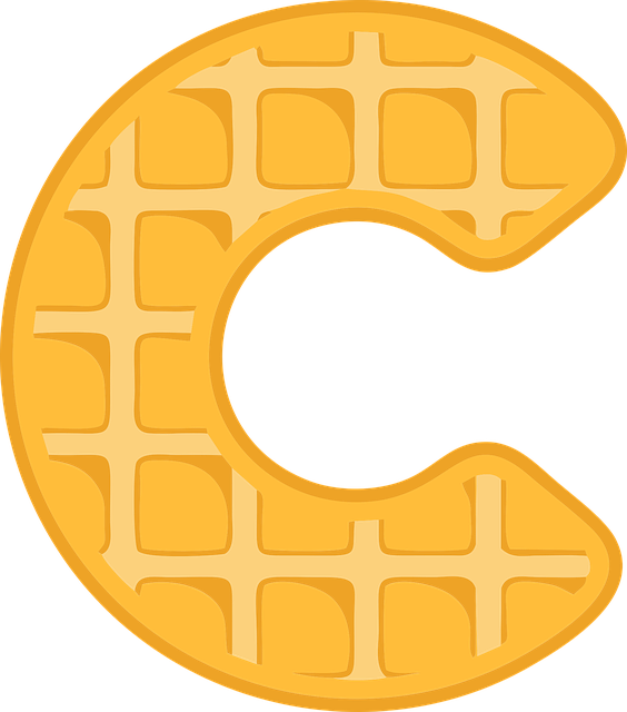 Free photo text alphabet. Waffle clipart chocolate waffle