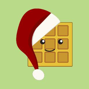 Santa gifts on zazzle. Waffle clipart christmas