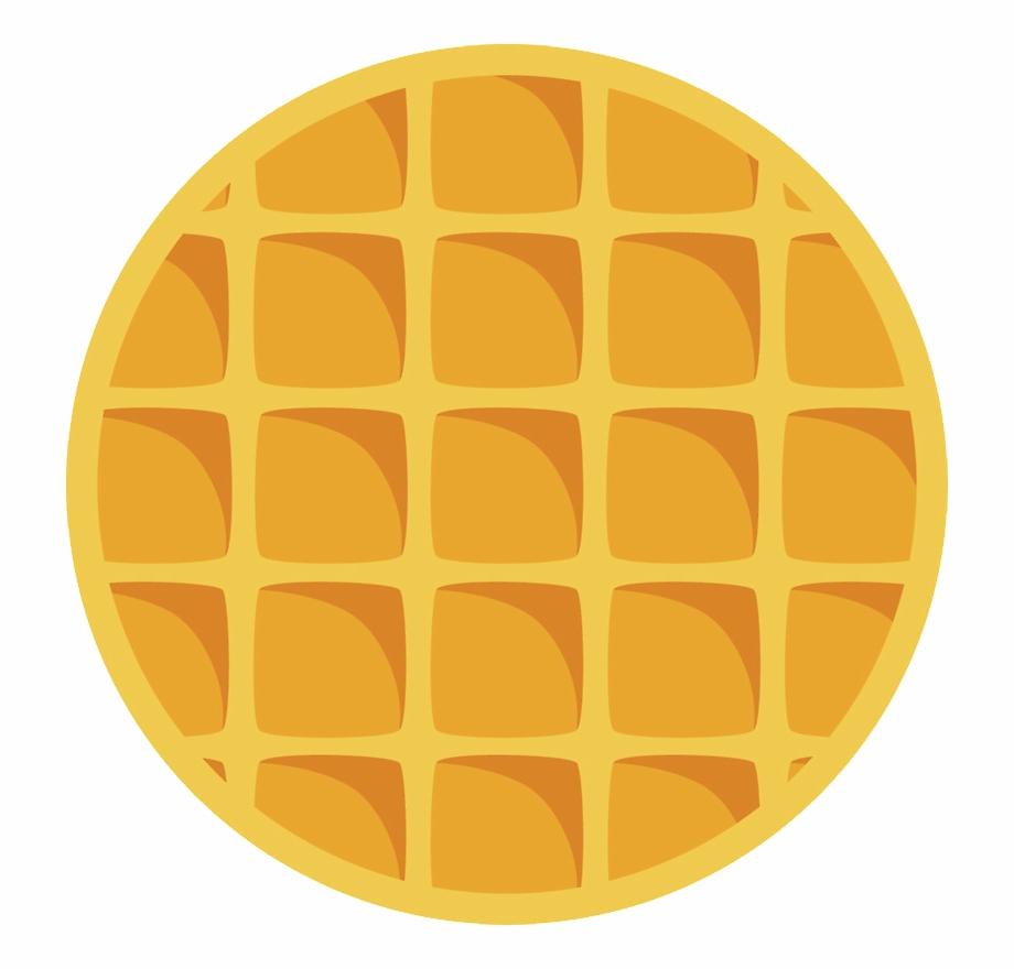Clip art transparent png. Waffle clipart circle