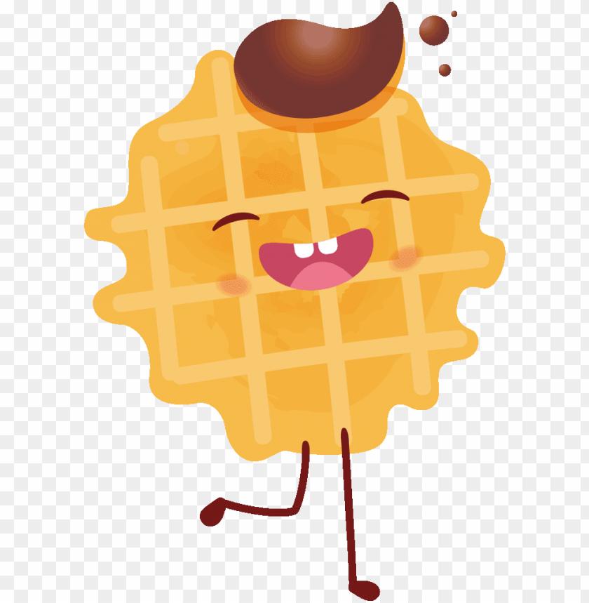 The best belgian waffles. Waffle clipart cute