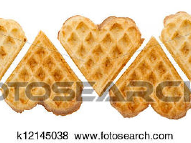 Free download clip art. Waffle clipart heart