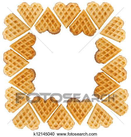 Waffle clipart heart. Clip art arts for