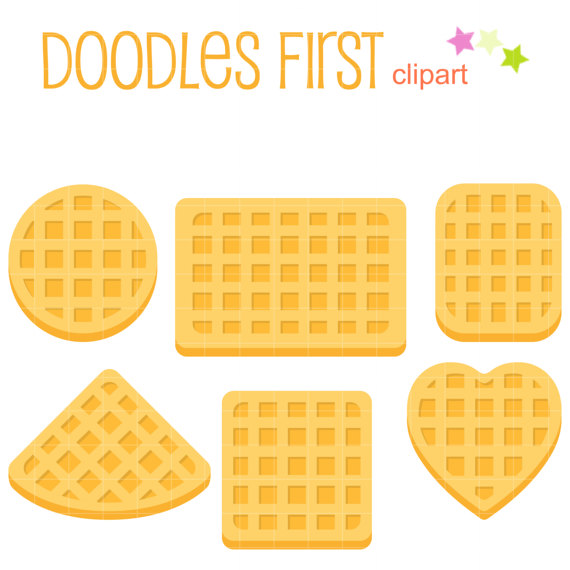 Waffle clipart heart shaped waffle. Belgian shapes clip art