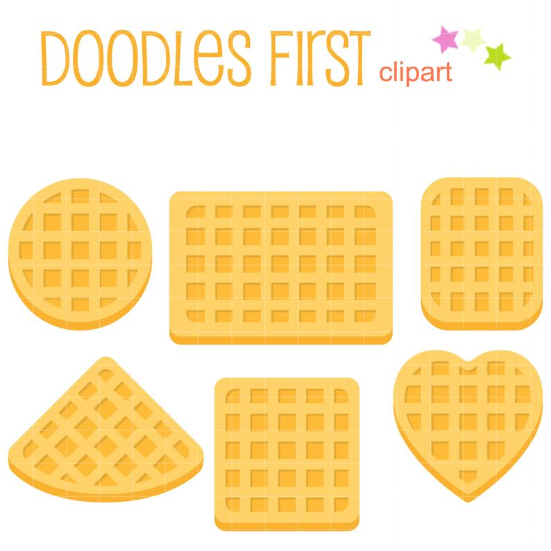 Waffle clipart high resolution. Belgian shapes clip art