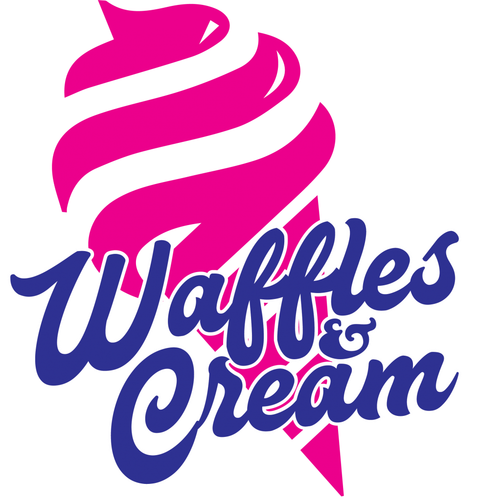Welcome waffles and cream. Waffle clipart plain