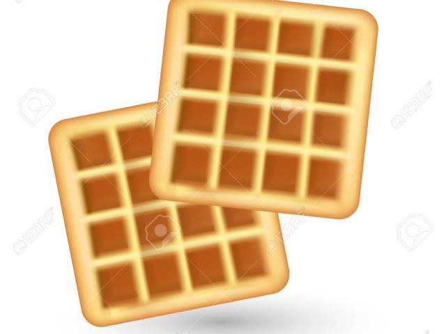 Free download clip art. Waffle clipart plain