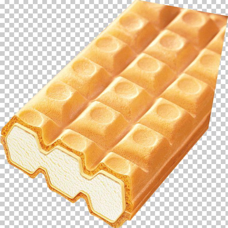 Belgian ice cream chocolate. Waffle clipart rectangle