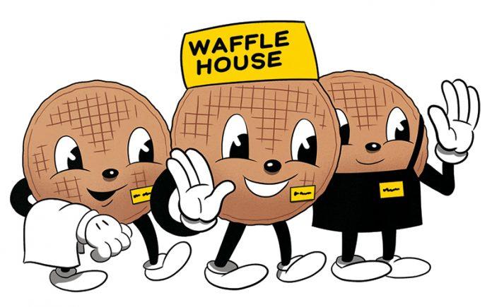 Waffle clipart small. Atlanta house serves up