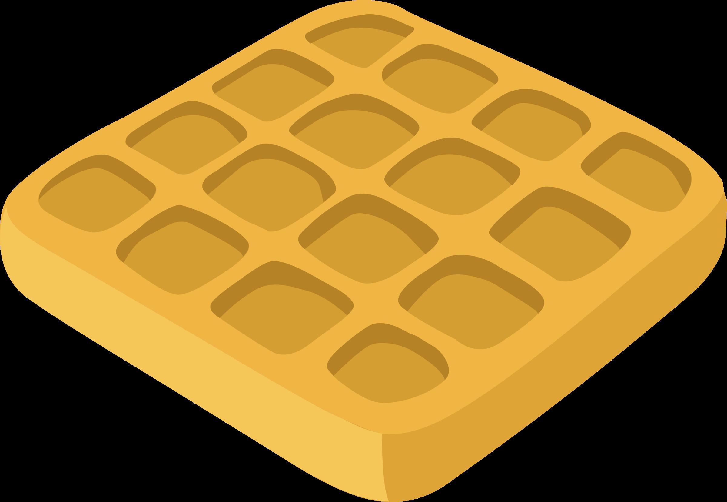 Food waffles big image. Waffle clipart small