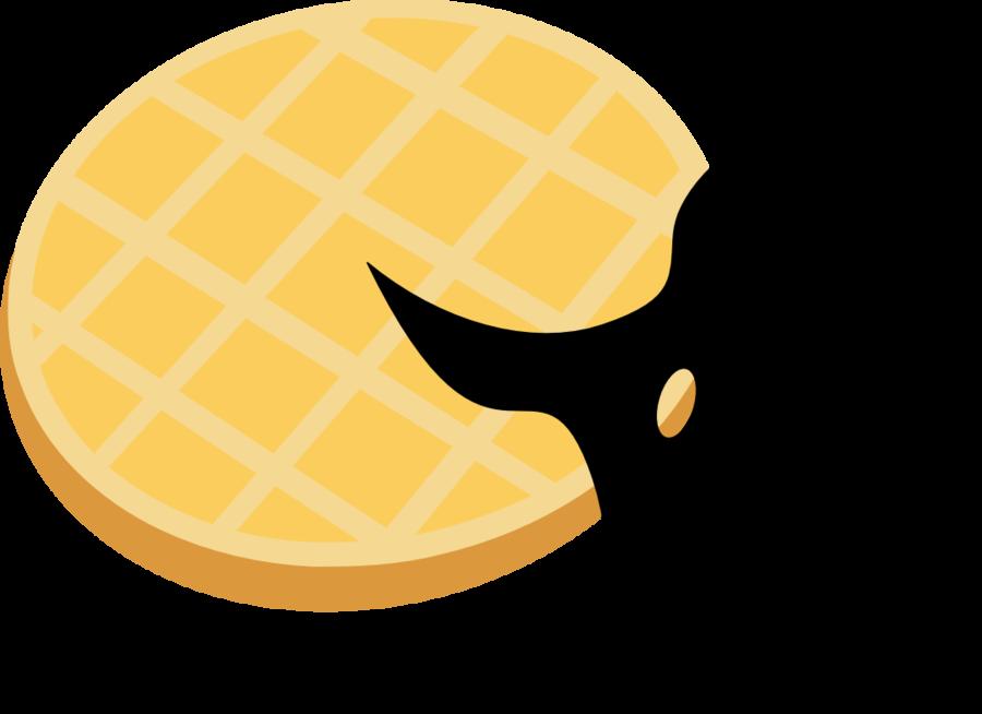 Shinobi s cutie mark. Waffle clipart square waffle