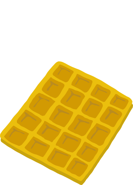 Waffle clipart square waffle. Free cliparts download clip