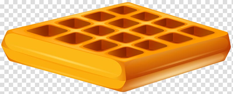 Orange container graphic ice. Waffle clipart square waffle