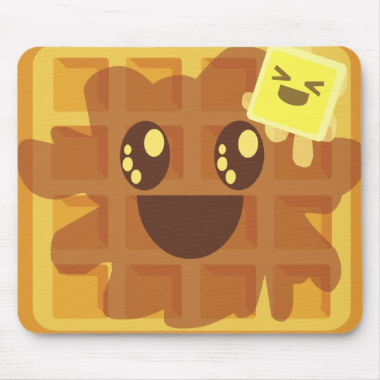 Waffle clipart syrup butter. Kawaii maple breakfast mouse