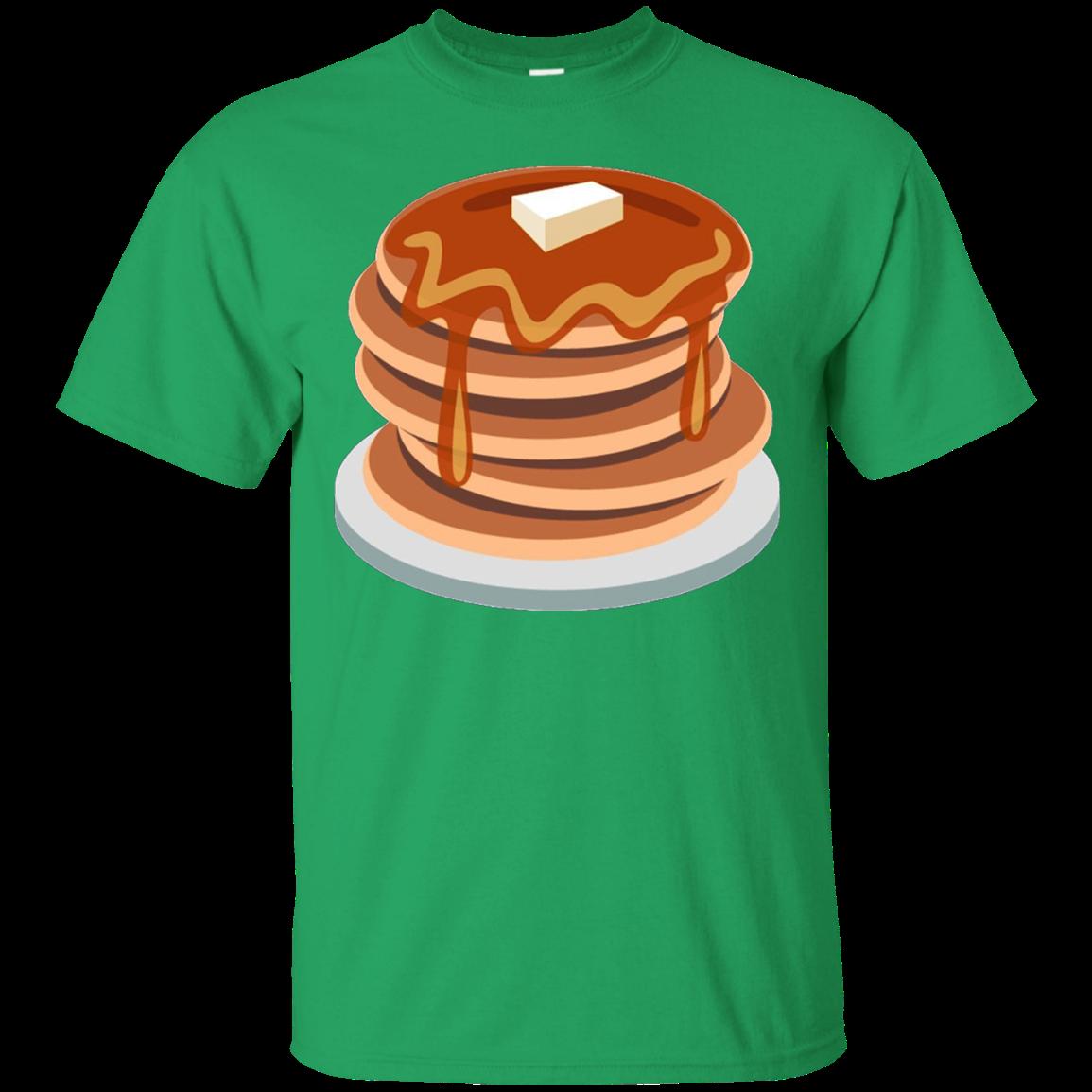 Waffle clipart syrup butter. Pancake emoji tshirt breakfast
