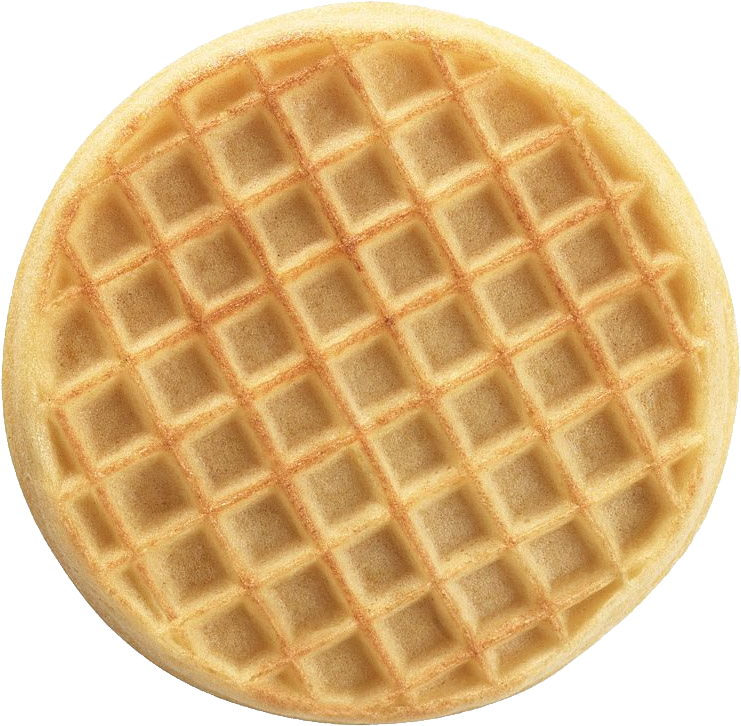 Waffle clipart wafer. Png images free download