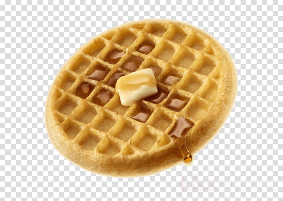 Food belgian dish . Waffle clipart wafer