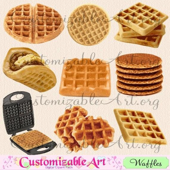 Waffle clipart waffle breakfast. Digital clip art dutch