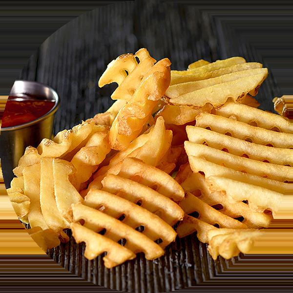 Wild chix waffles fries. Waffle clipart waffle fry