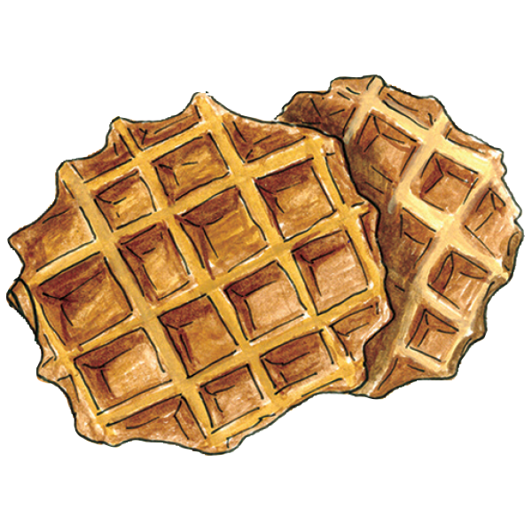 Waffle clipart waffle stack. February foodie finds lopaus