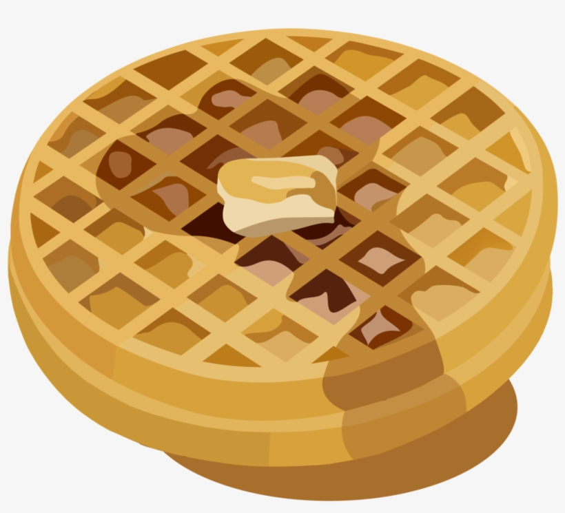 Waffle clipart waffle stack. Transparent png x free