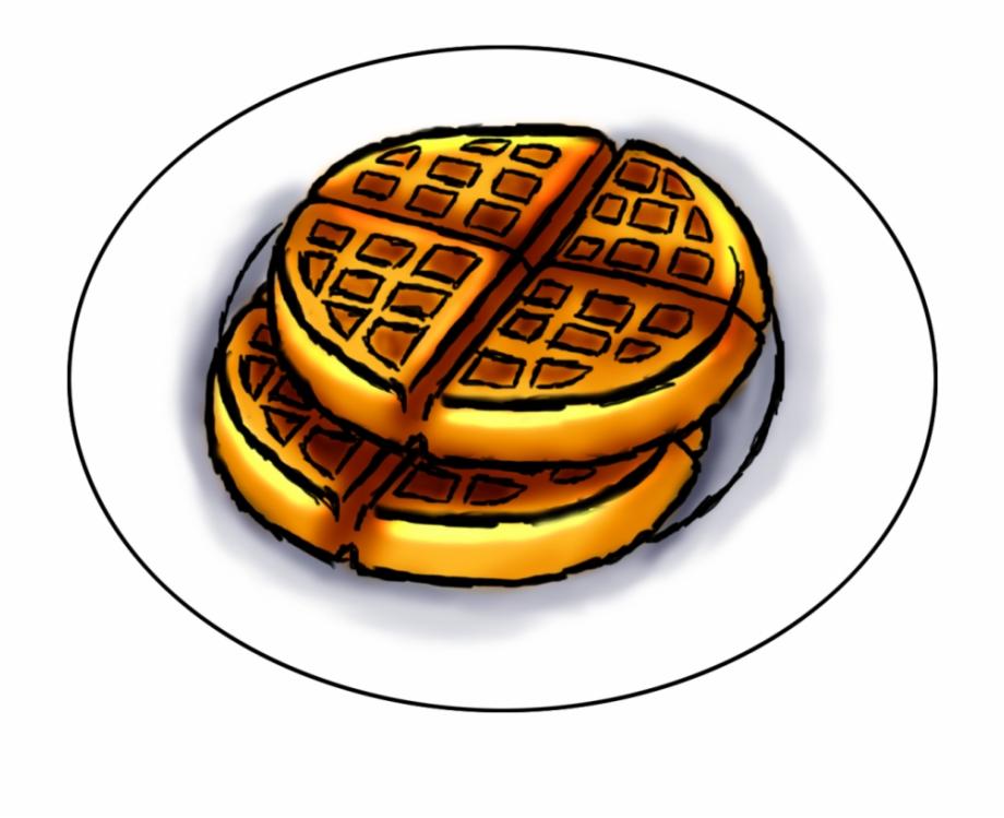 Breakfast waffles free png. Waffle clipart wafle