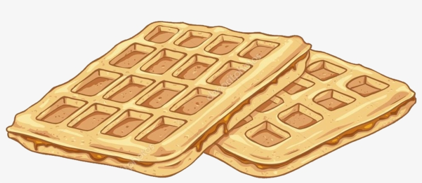 Waffle clipart wafle. Breakfast transparent background waffles
