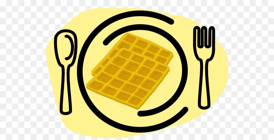House cartoon breakfast milk. Waffle clipart yellow
