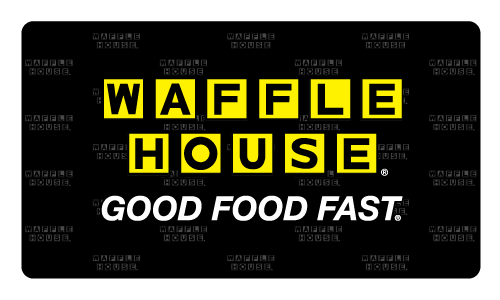 Waffle house png. Gift cards
