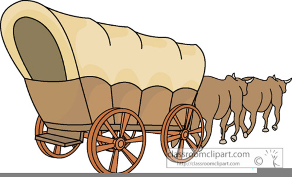 Wagon clipart. Animated covered free images