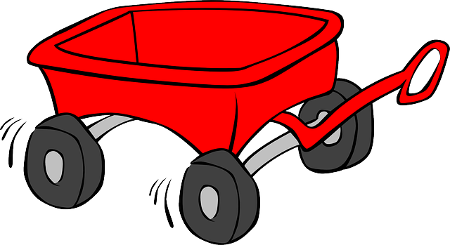 Pin on idea . Wagon clipart